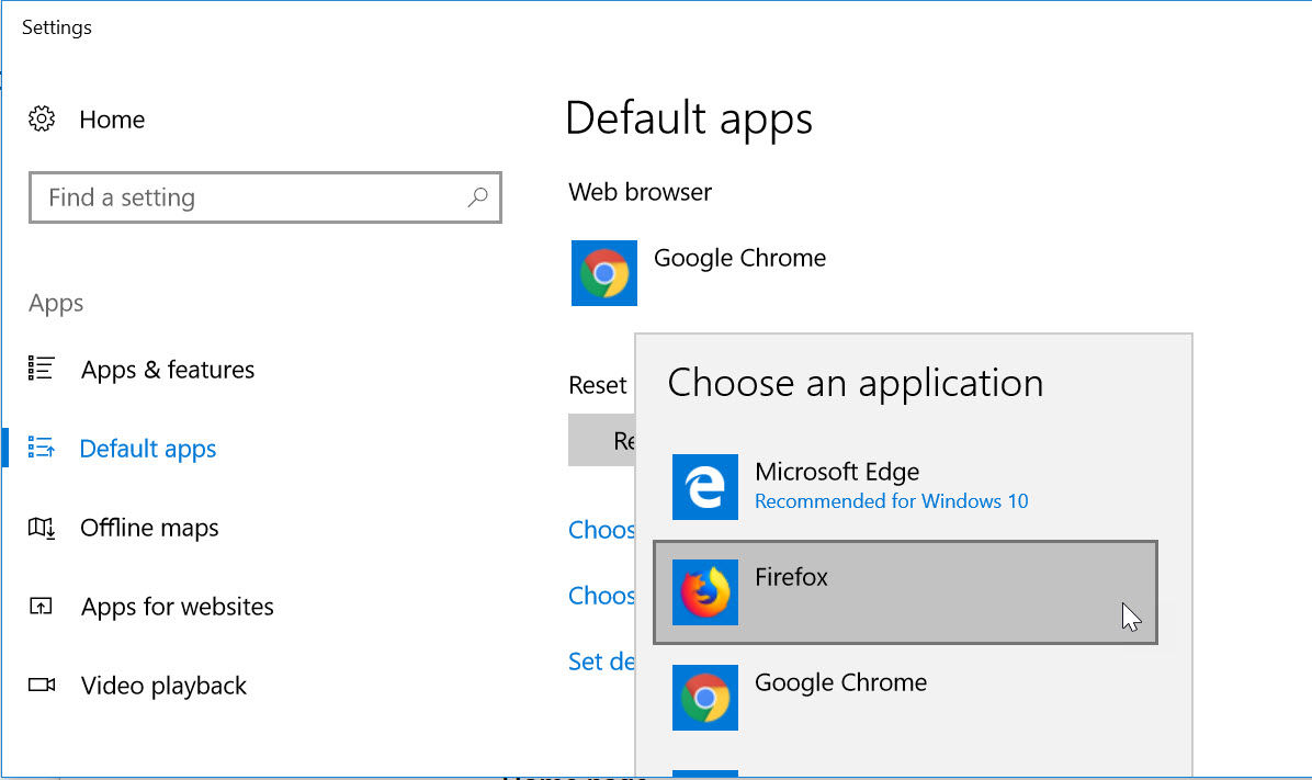 Change Default Browser   Steps to Change Your Default Browser in PC