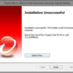 How to Fix Trend Micro Antivirus Error Code 331 0x1f4