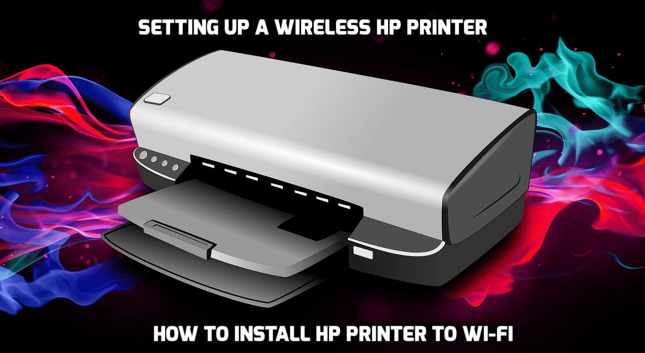 setup wireless hp printer