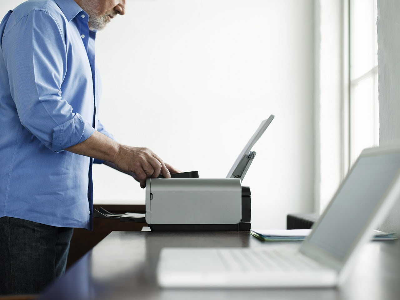setup HP printer