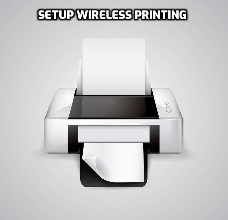 setup wireless printing