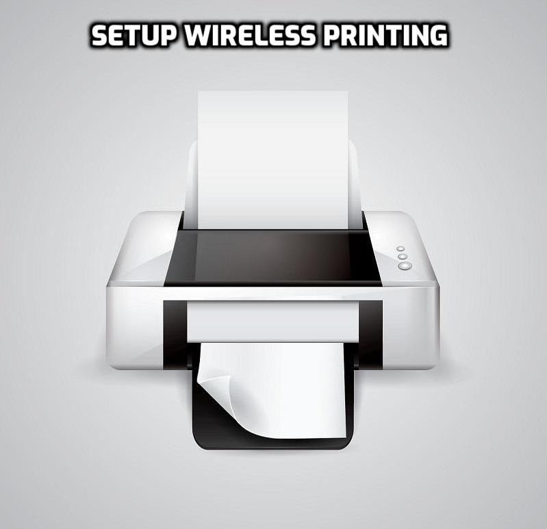 setup wireless printing