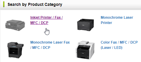 brother printer error state product category