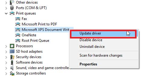 to fix Printer not Printing PDF