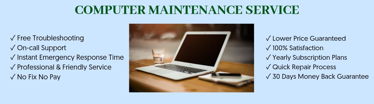computer maintenance service
