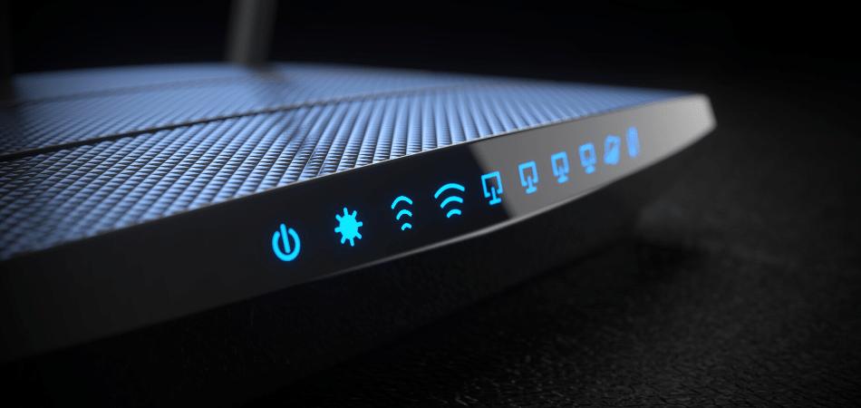 lights belkin router