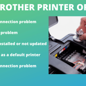 FIX BROTHER PRINTER OFFLINE