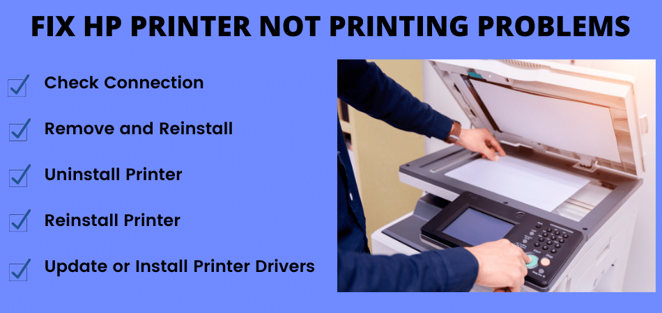 FIX HP PRINTER NOT PRINTING PROBLEMS