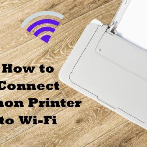connect canon printer to wi-fi