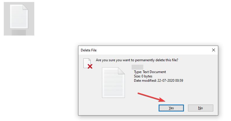 delete everything printers folder