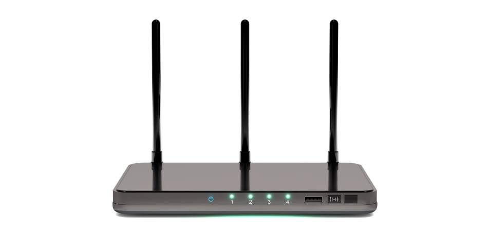 router power on