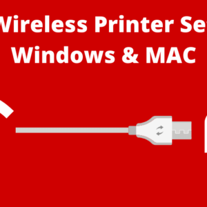 Canon Wireless Printer Set Up For Windows & MAC