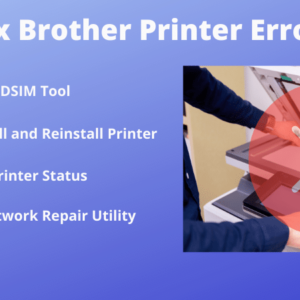 fix brother printer error state