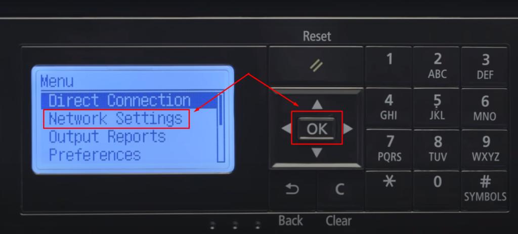 Network Setting Canon Printer to fix HP Printer Color Off