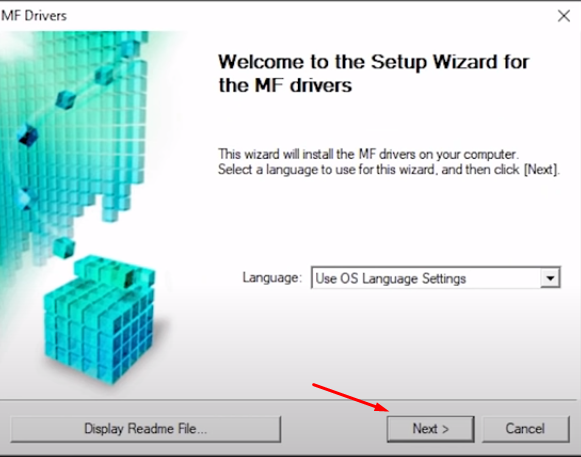 click next to install driver