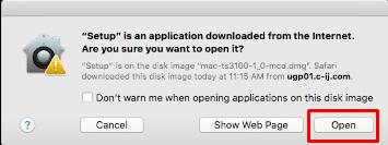 click open mac