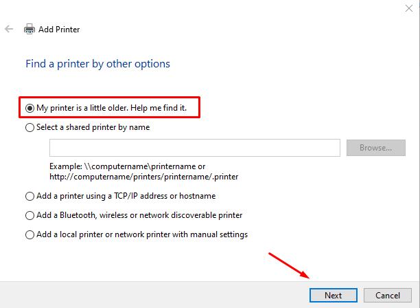 printer is little older