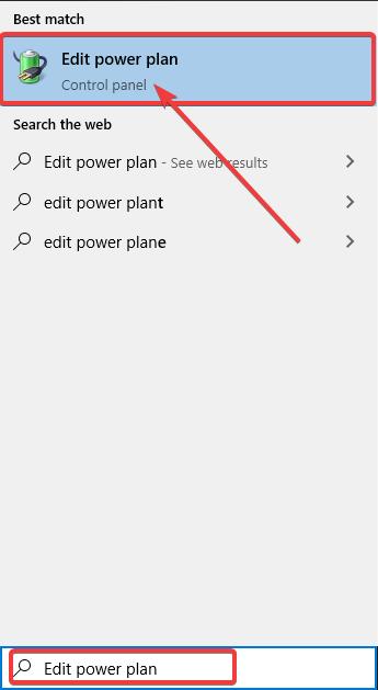 edit power plan - Windows 10 Keeps Restarting