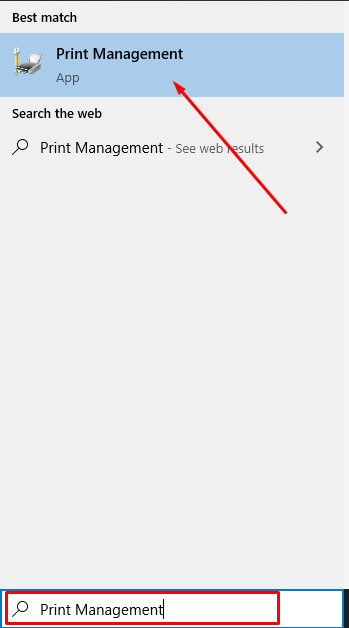 print management - Brother Printer Not Printing