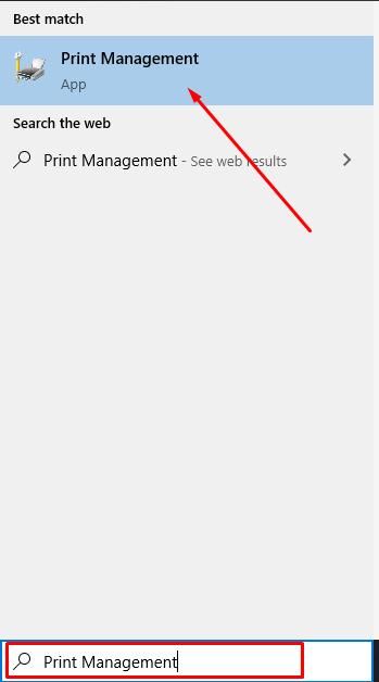 print management - Brother Printer Not Printing