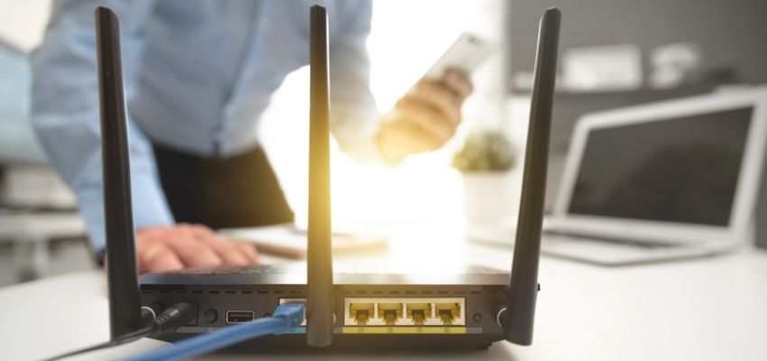 reboot router to fix Wi-Fi router not working
