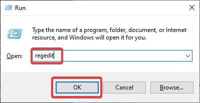 regedit to fix Computer Keeps Restarting