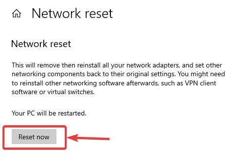 reset now to fix Wi-Fi Range Issue
