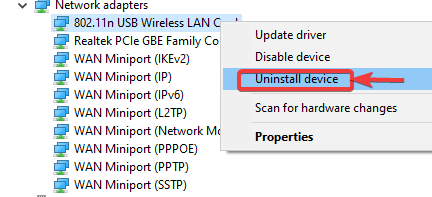 uninstall device driver to fix slow printing problems