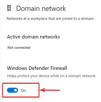 Turn off windows defender - Windows 10 Problems with Internet