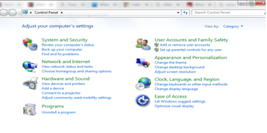 Uninstall a program - virus and threat protection