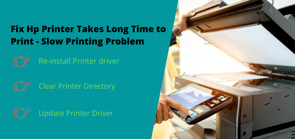 fix hp printer takes long time to print slow printing problem