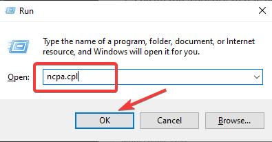 ncpa to Fix HP Printer Displaying Error 0XD8077900