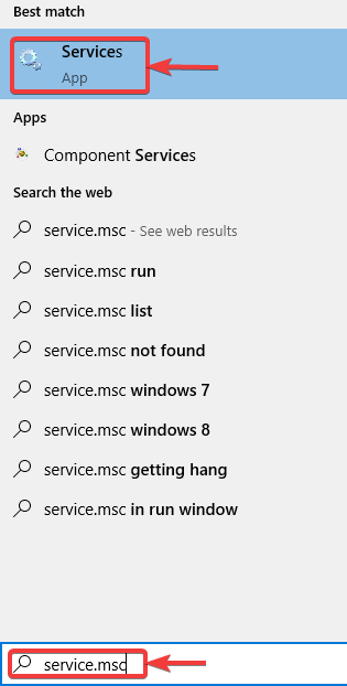search for service.msc - WINDOWS DEFENDER NOT WORKING