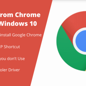 Can't Print from Chrome Browser in Windows 10