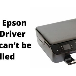 (Solved) Epson Printer Driver Package cant be installed
