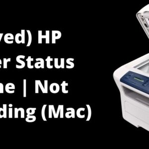 hp printer status offline