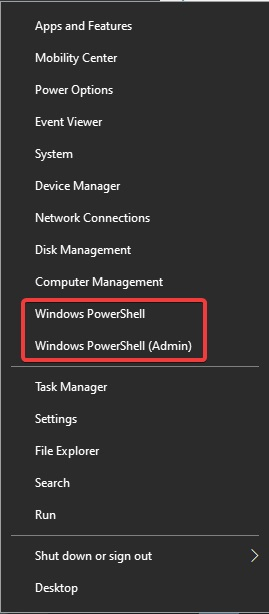 windows power cell