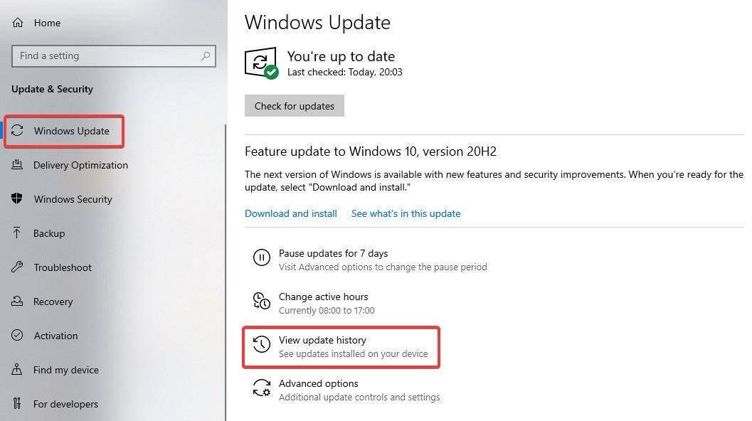 windows update to fix Computer Keeps Restarting