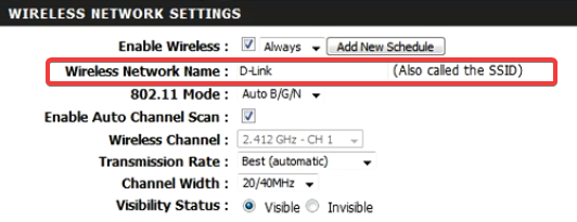 change router name