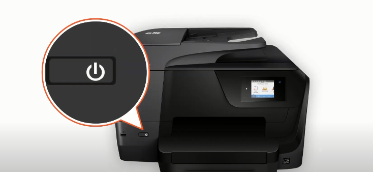 turn on printer