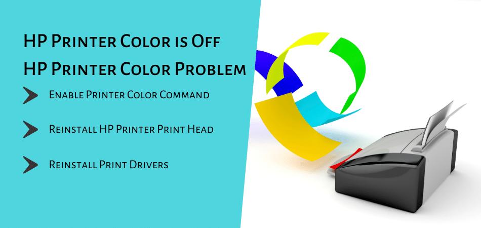 HP Printer Color Off HP Printer Color Problem