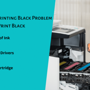 HP Printer not Printing Black Problem