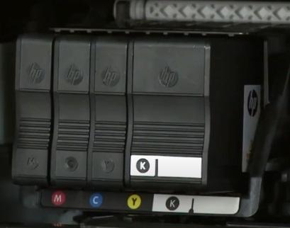 printer color cartridge to fix HP Printer not Printing Black