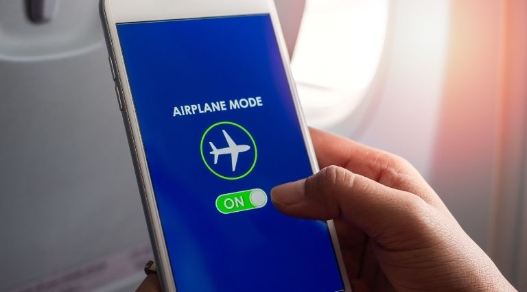 Airplane mode to fix Chrome Crashes