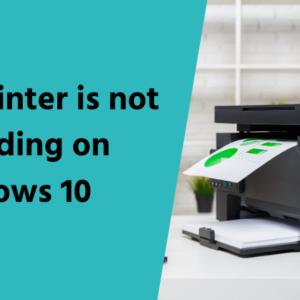 Brother Printer not responding on Windows 10