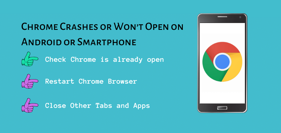 Chrome Crashes or Won't Open on Android or Smartphone