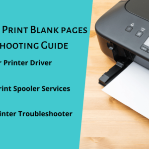 Epson Printer Print Blank pages