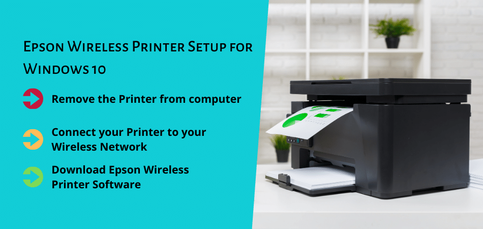 Epson Wireless Printer Setup for Windows 10