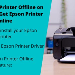 Epson printer offline in Windows 10