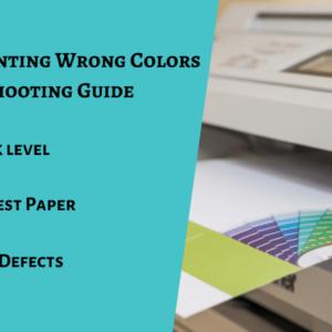 Hp Printer Printing Wrong Colors